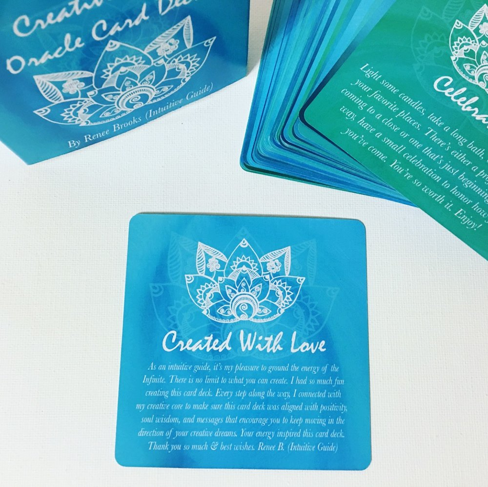 Creative Core Oracle Card Deck w/ Tuck Box