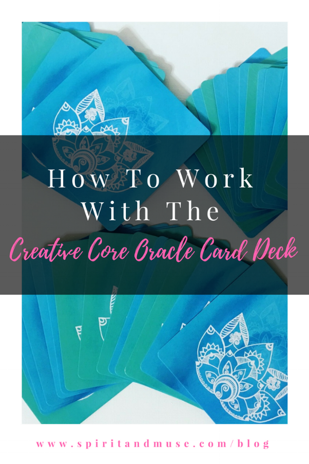 Creative Core Oracle Card Deck How-To