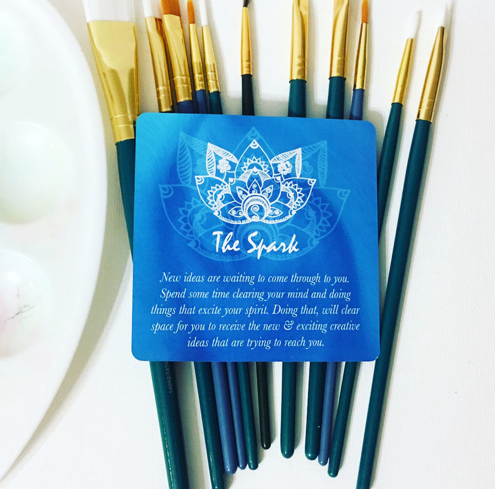 Creative Core Oracle Cards ~ The Spark