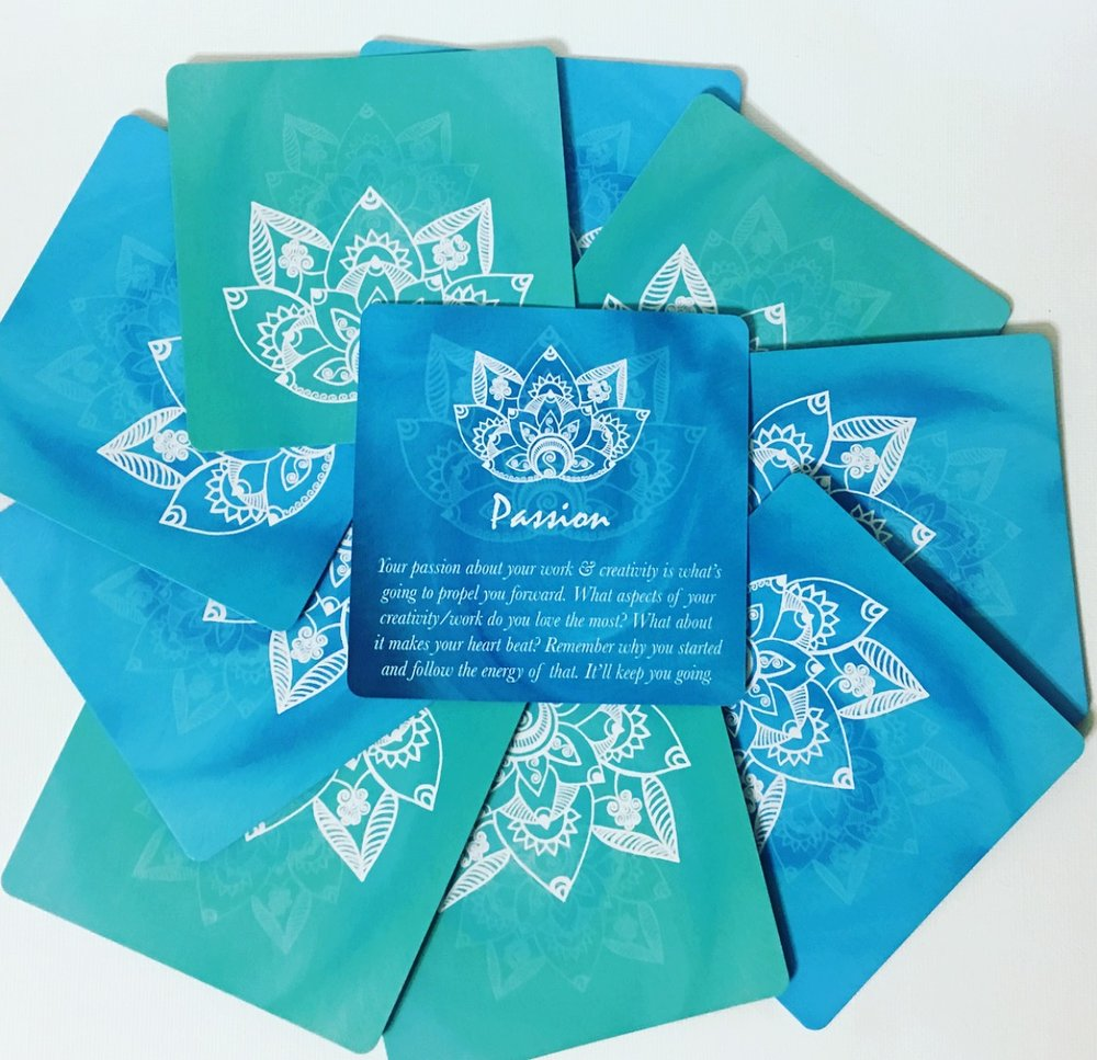 Creative Core Oracle Cards ~ Passion