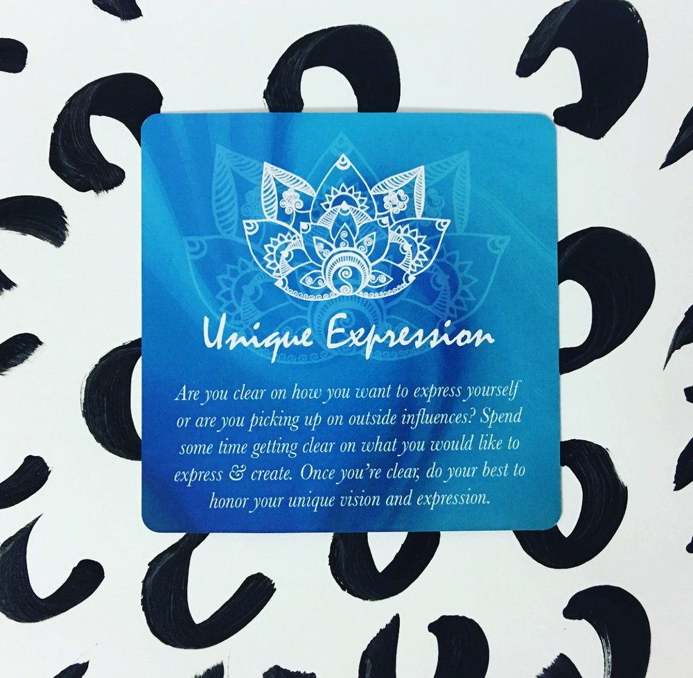 Creative Core Oracle Cards Unique Expression
