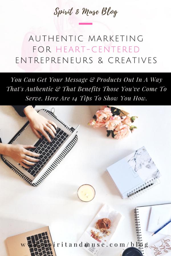 Authentic Marketing Heart-Centered Entrepreneurs & Creatives