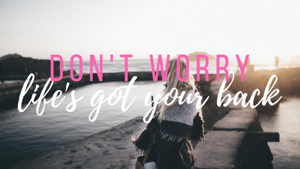 girl boss - life has your back - free desktop wallpaper