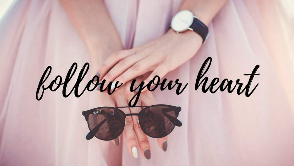 girl boss - follow your heart - free desktop wallpaper