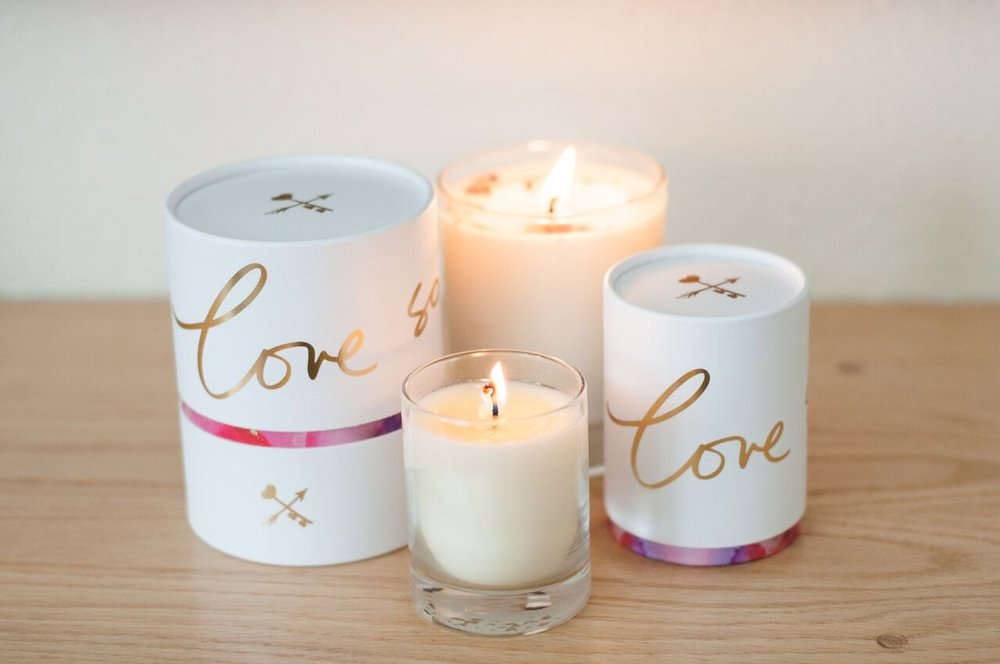 Organic - Soy Votive & Vaso Candles By Danielle LaPorte