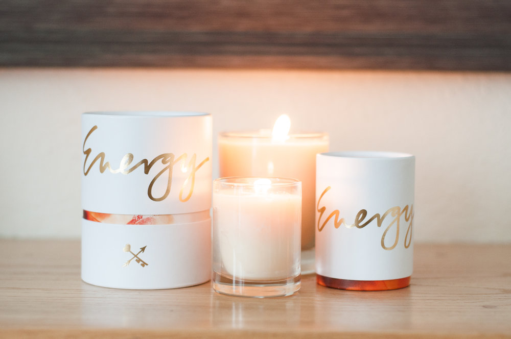 Peace - Energy - Love Soy Candles By Danielle LaPorte