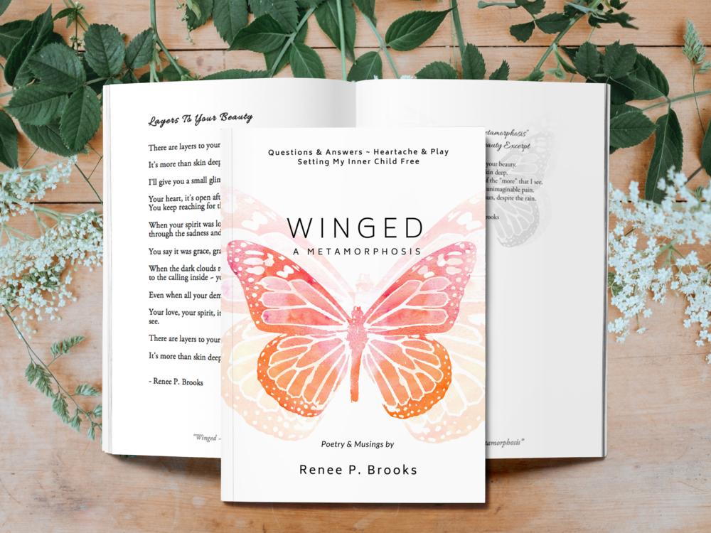 """Winged ~ A Metamorphosis"" The Book"