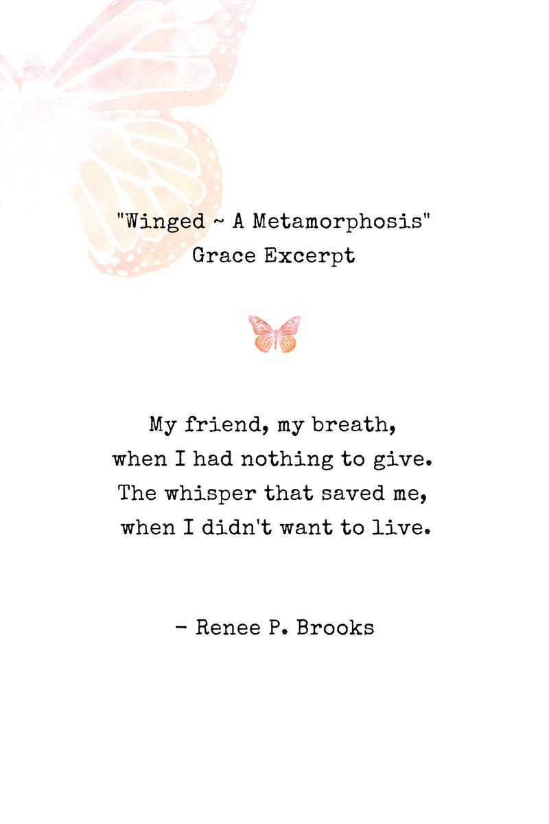 Winged Grace Poetry Excerpt