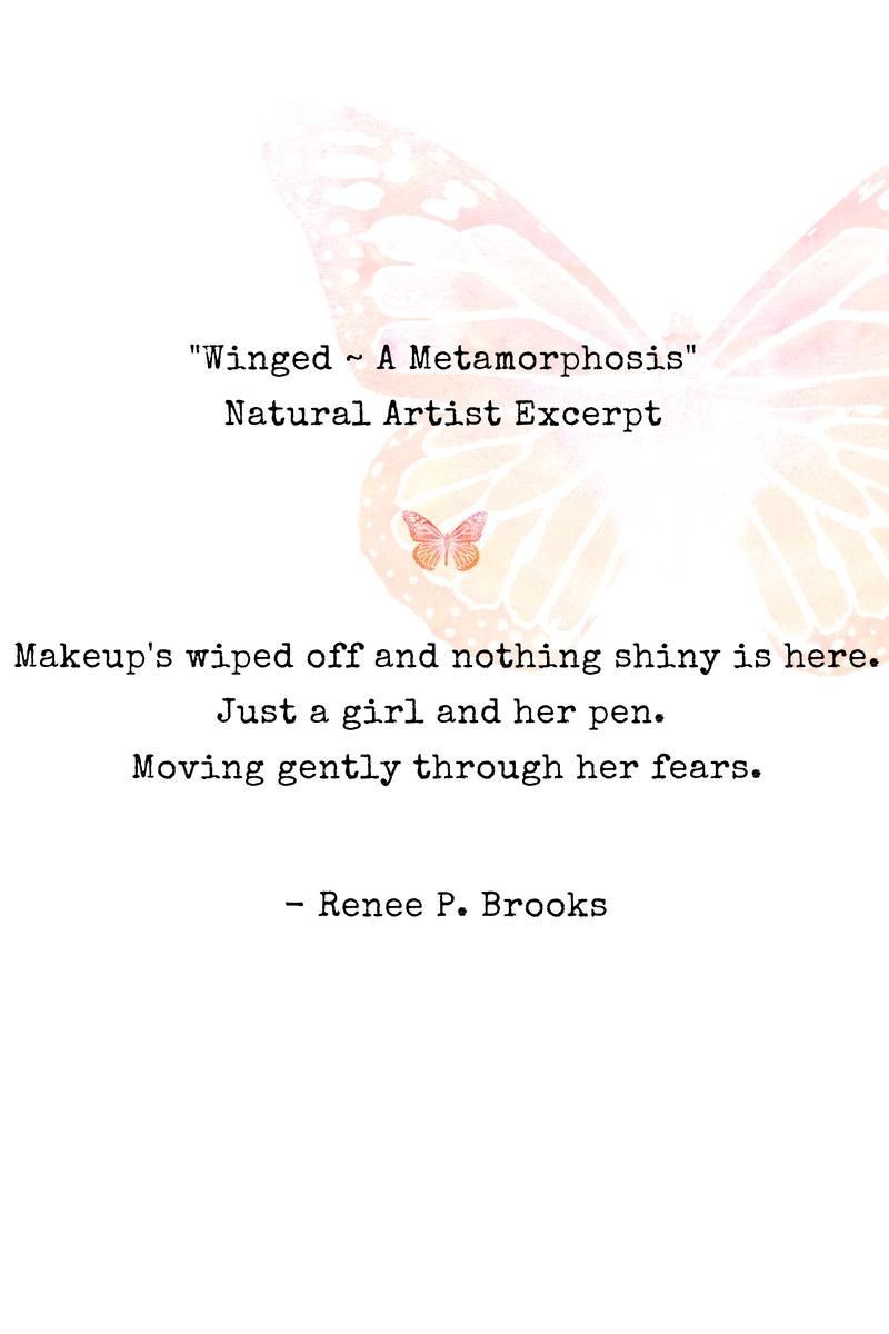 Winged Natural Artist Poetry Excerpt