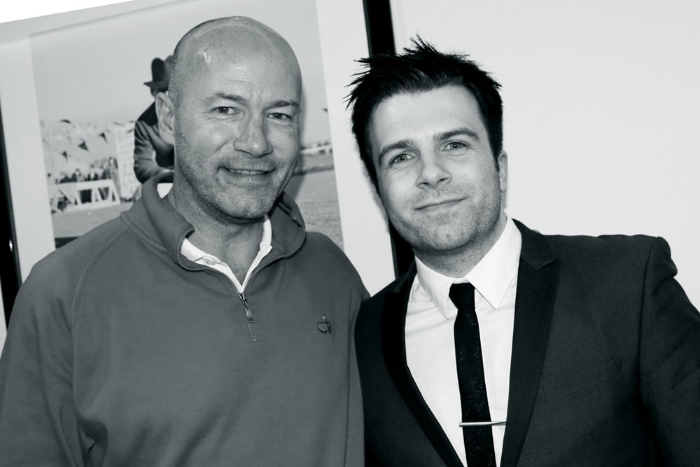 Me with footballer Sir Alan Shearer