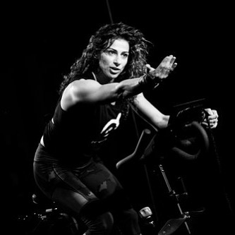 Instructor Antonia DeSantis is our 11 a.m. hour instructor. She has been teaching indoor cycling for 8 years and is originally from NYC. She moved to Chicago after 15 years to pursue her passion in fitness. She describes her instruction style as challenging but fun. #SpintoBreaktheCycle #WeAreStrongerTogether #InstructorSpotlight