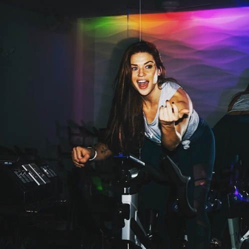 Shannon Flanagan is our 12 p.m. hour #SpintoBreaktheCycle instructor. Shannon teaches HIIT and cycling classes at Crosstown Fitness. She is also an independent personal and small group trainer, helping people to achieve their fitness goals. Shannon describes her cycling style as a party on bike and loves incorporating music into great workouts. #WeAreStrongerTogether #InstructorSpotlight #Spin #spintobreakthecycle