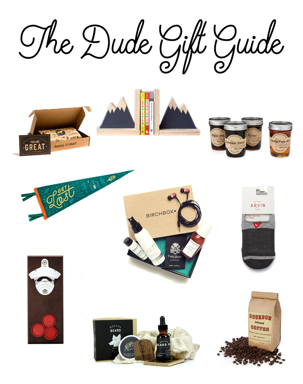 The Dude Gift Guide - Lo & Harv