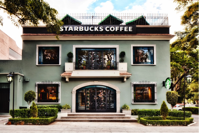 Starbucks, Mexico City ( image source )
