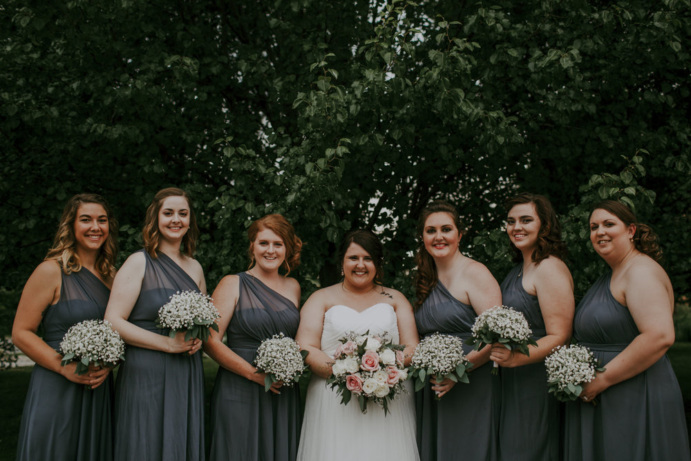 giacomo wedding hidden lake winery bridesmaids