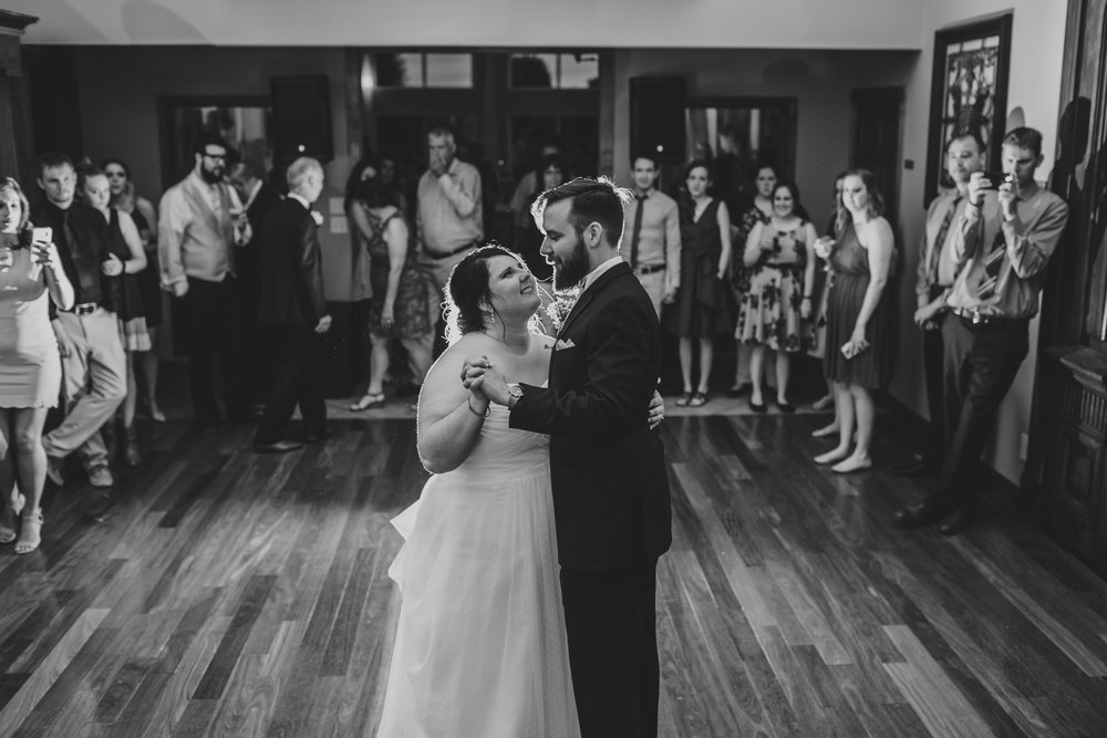 giacomo wedding hidden lake winery reception first dance