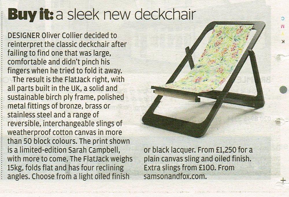 Evening Standard, 2014