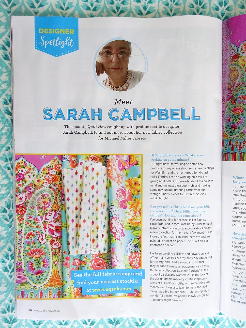Quilt Now Magazine, issue 55