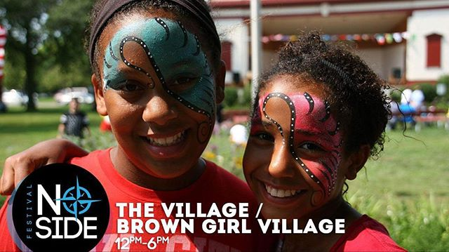 ... We learn it takes a village to raise a child. Within our One World Market is The Village, an area where kids can grow and play together in a safe and educational environment.  Activities include: inflatables, face-painting, science demos and interactive booths.  BUT WAIT! It doesn't stop there.... we've created a special place for girls of color to feel empowered and showcase there own creativity. Check out our BrownGirl Village inside The Village too! #NoSideFest #ShareTheLex #BrownGirls #LexingtonKy #Louisville #GeorgetownKY #FrankfortKy #Kentucky #RichmondKy #Diversity #MoreThanGraphics