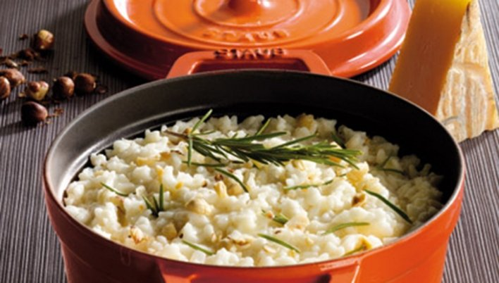 Risotto with Italian Cheese Recipe