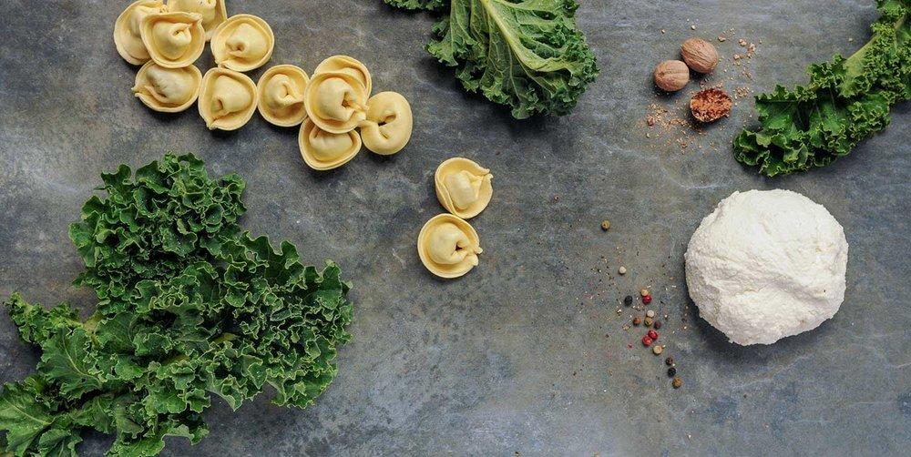 Duso's Kale & Ricotta Tortelloni