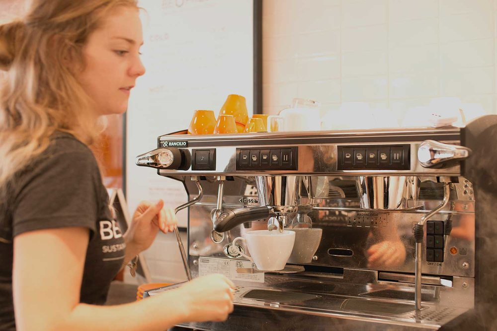 Local artisan coffee