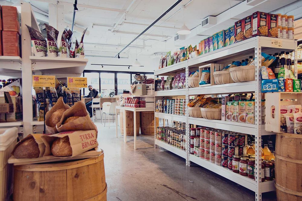 Shop for organic, sustainable and locally made products