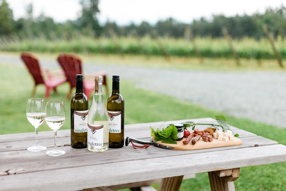 Spend a while at    Singletree Winery