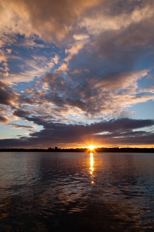 The Evolving Sunset