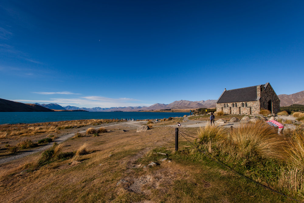 Church of the Good Shepard on the shores of Lake Tekapo.