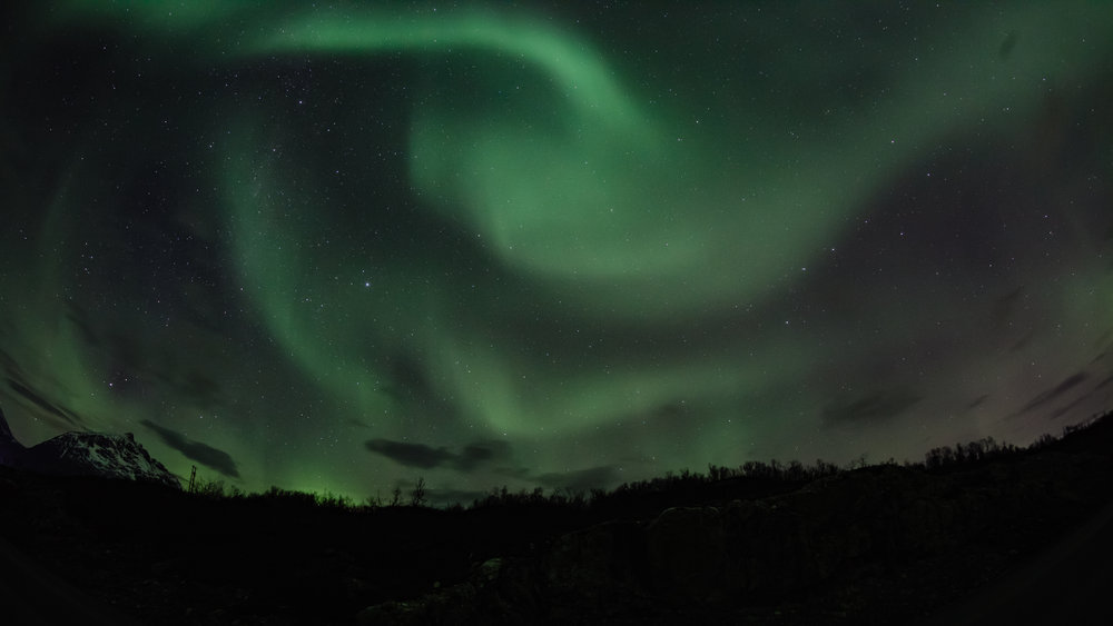 Swirly, twirly, aurora borealis!