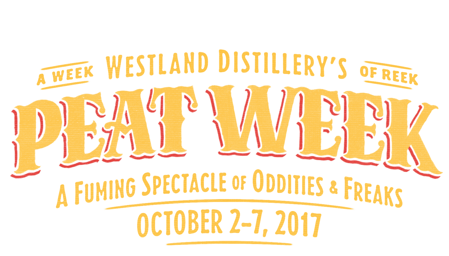 Westland Distillery's Peat Week