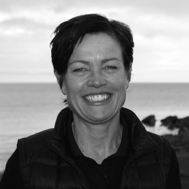 Tina Westberg, ordförande i damkommittén Kontakta Tina