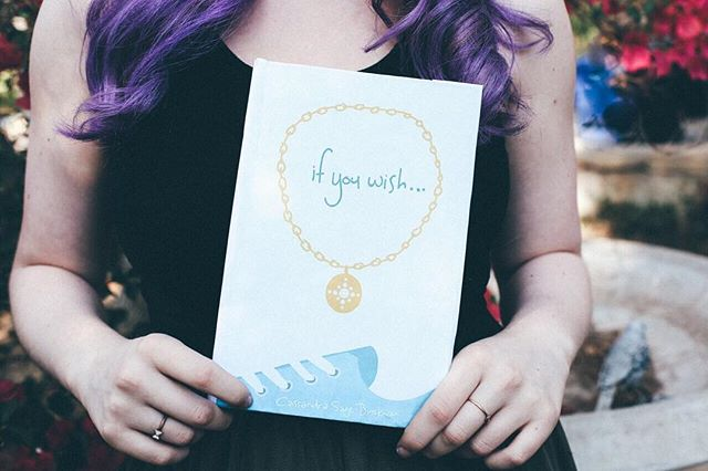 If You Wish is available NOW on Amazon! Take a picture of yourself reading it and post it with the hashtag #IfYouWishNovel to be featured! // #yanovels #author #authorsofinstagram #bookstagram #ireadya #teenauthor #purplehair