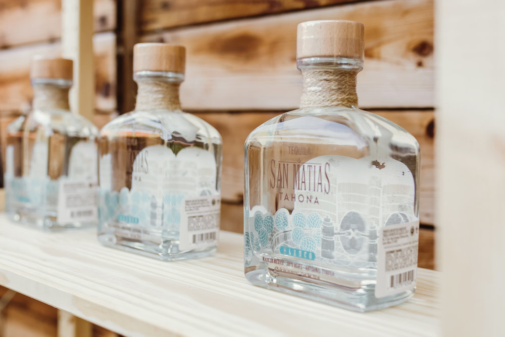 tequila bottle packaging design and advertising