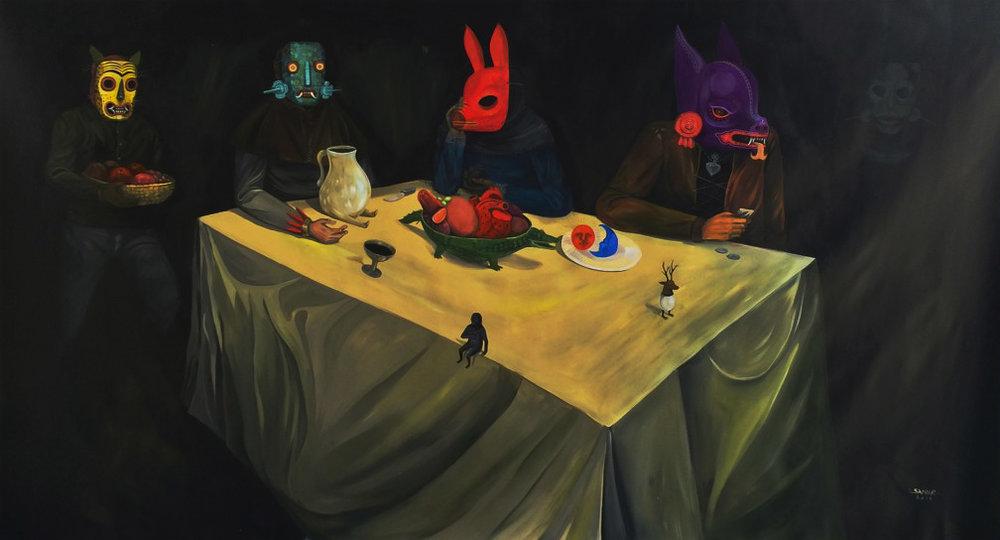 Saner artist mexican japan