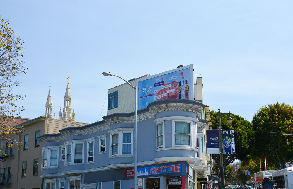 san francisco billboard campaign creative