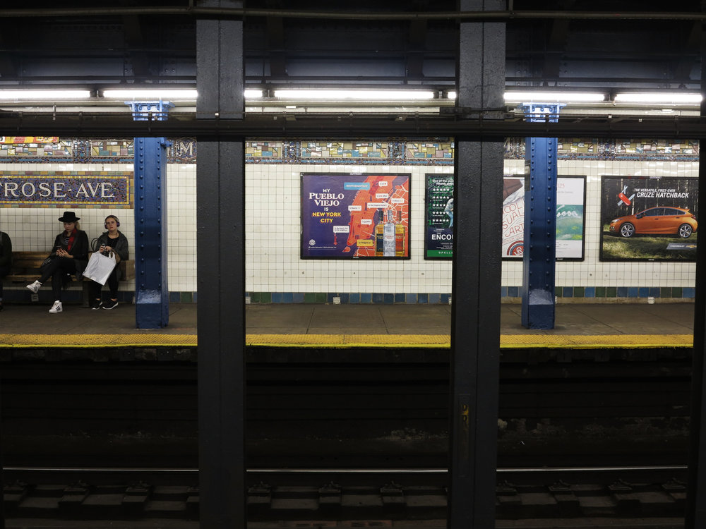 new york advertising campaign subway