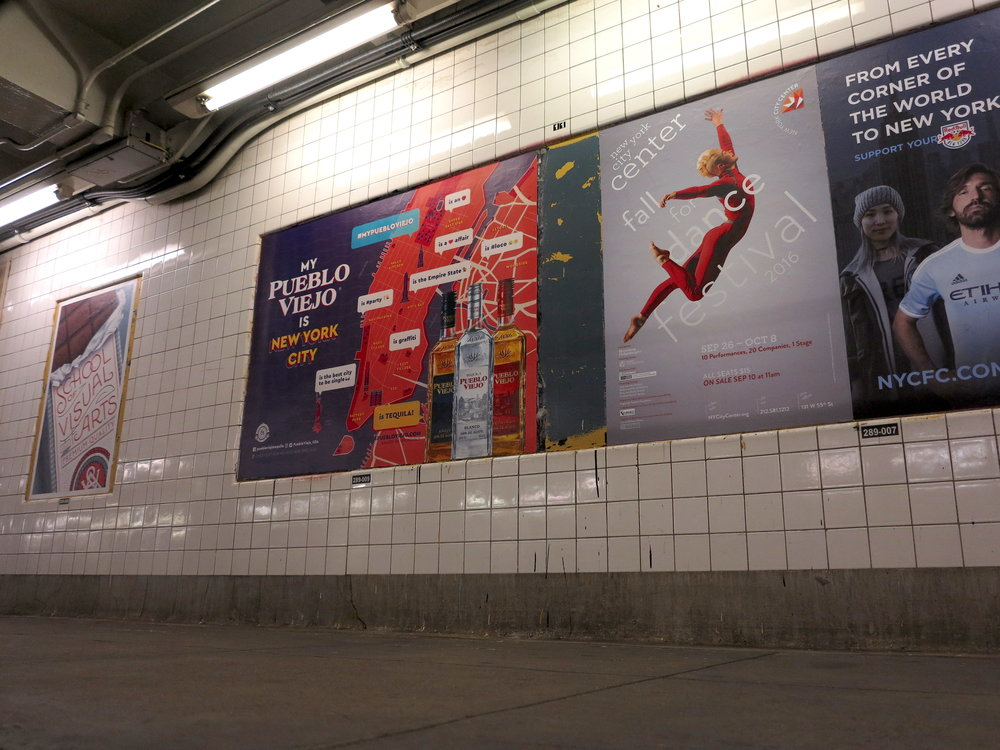 subway advertising
