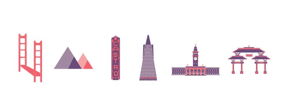 san francisco icons