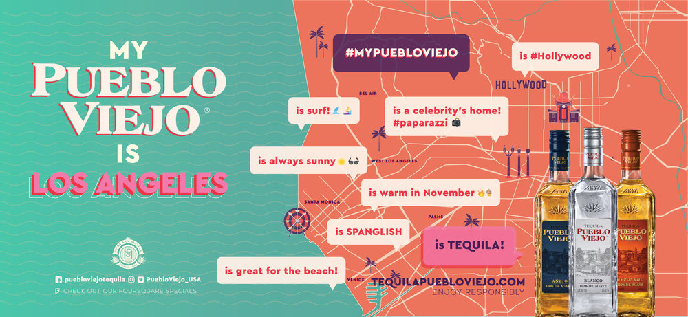 los Angeles_map tequila ad