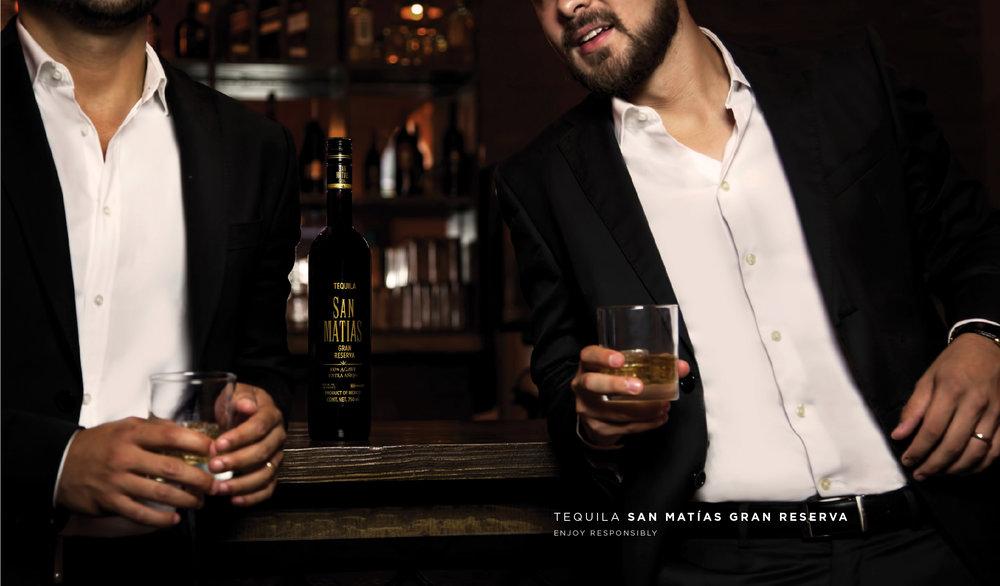 man tequila añejo anuncio campaña
