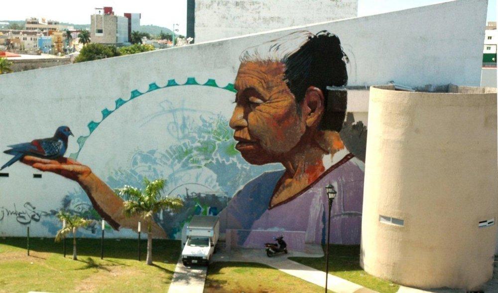 Teatro-Juan-de-la-Cabada-mural arte urbano