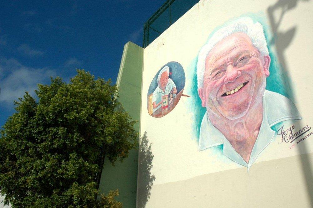 Centro-Deportivo-Mural Arte Urbano Seres Queridos