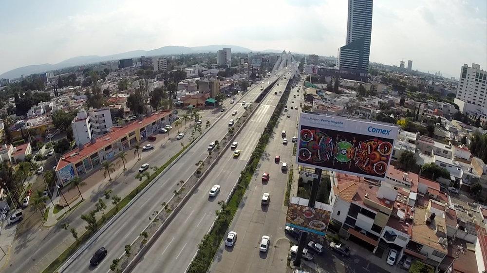 Comex arte urbano guadalajara