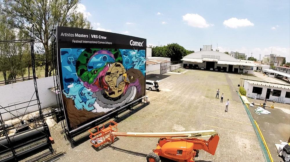 Guadalajara arte urbano comex