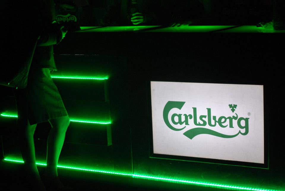Carlsberg barra