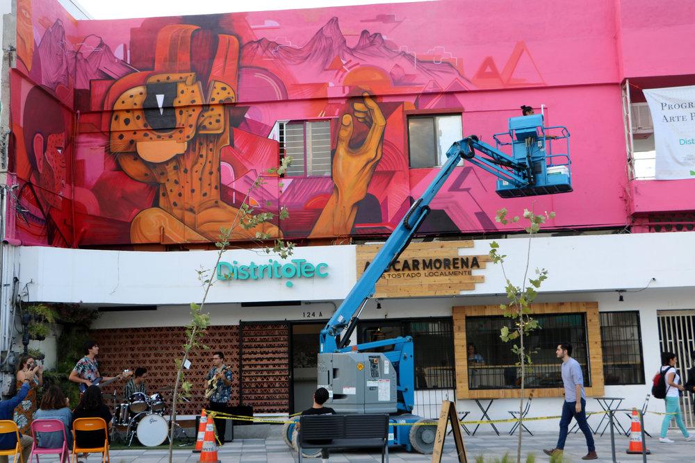 saner distrito tec arte urbano