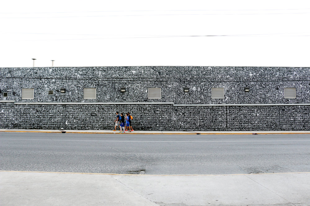 KATIE Merz Tec de monterrey arte urbano arto studio