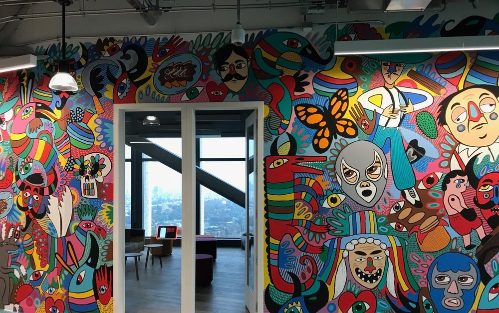 Mexico+art+Facebook+offices